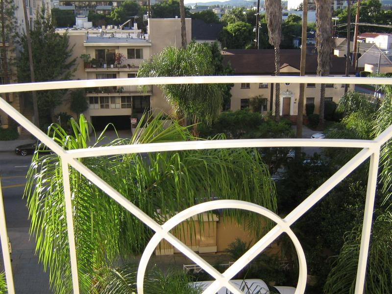 View of Beverly Hills from my room in the Four Seasons